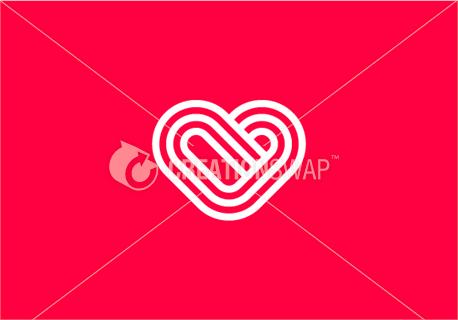 Crossing heart lines (47829)