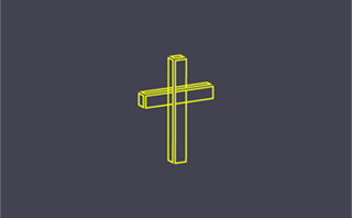 Lined cross