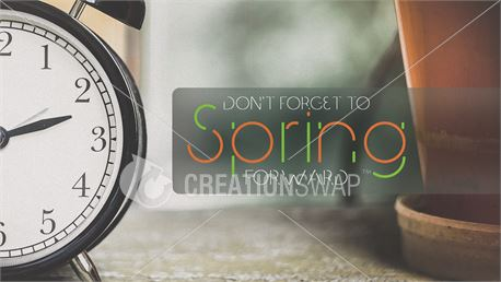 Spring Forward Graphic Pack (47939)