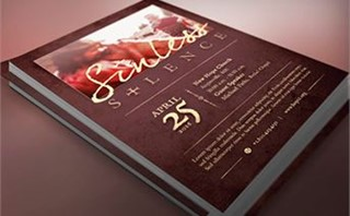 Sinless Silence Flyer Template