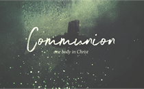 Ashes to Ashes Communion