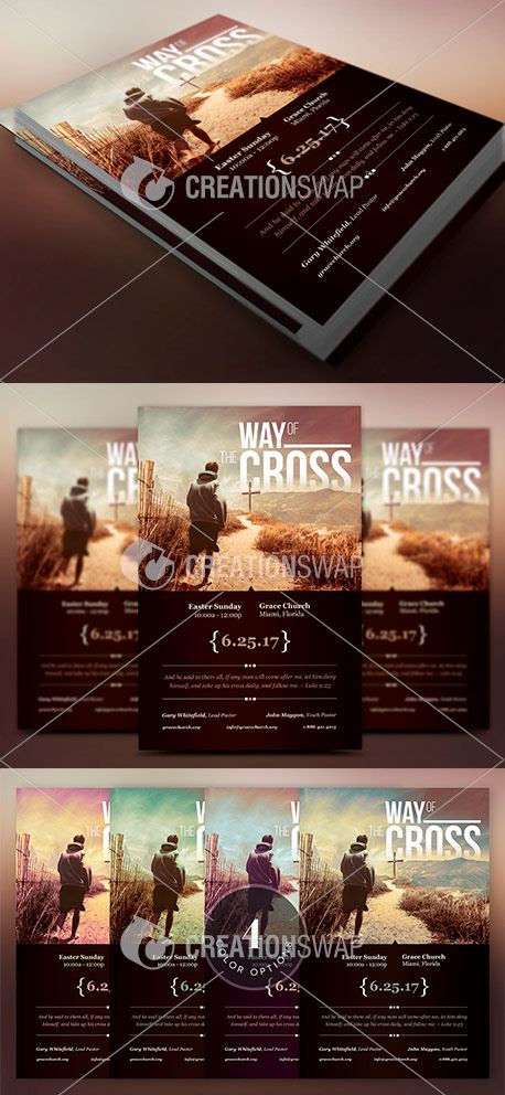 Cross Way Easter Flyer (48113)