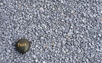 Faith on gravel