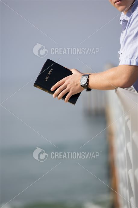 Man with a bible (48305)