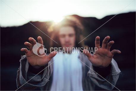 Jesus praying for you (48783)