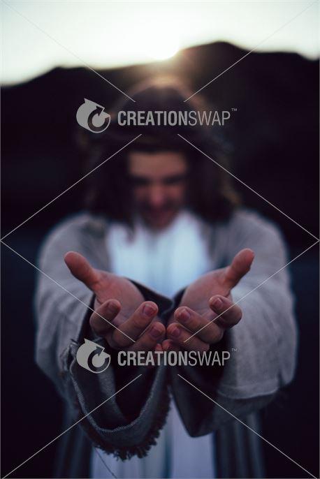 Jesus with open hands (48784)