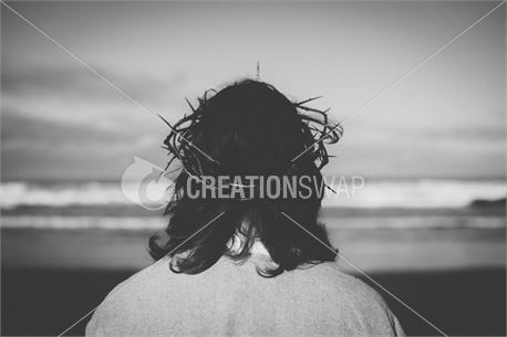 Jesus with crown of thorns (48785)