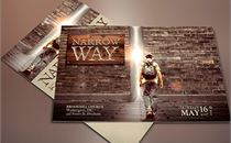 Narrow Way Sermon Flyer