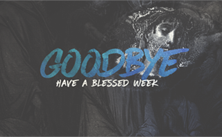 Good Friday Goodbye