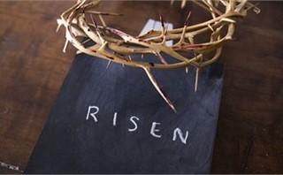 Holy Week Chalk 1