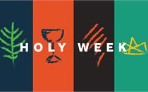 Holy Week Sketch Icons