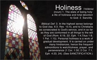 Holiness_Stained Glass