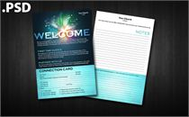Worship Guide Template - PSD