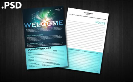 Media - Worship Guide Template - Psd | Creationswap