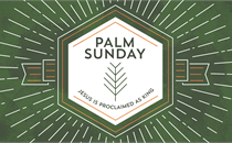 Holy Week Icons Palm Sunday