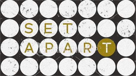 Set Apart (50680)