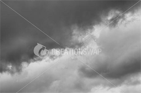 Dark and Gloomy Cloudy Sky (50910)