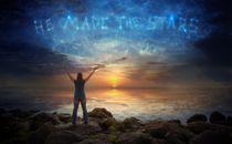 He made the stars