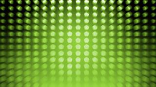 Pentagon Zoom Green Seamless