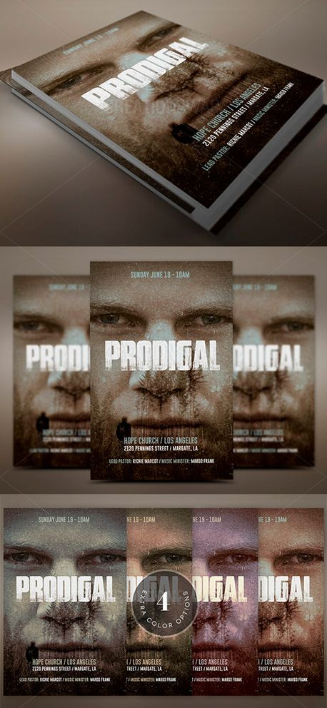 Prodigal Son Flyer Template (51904)