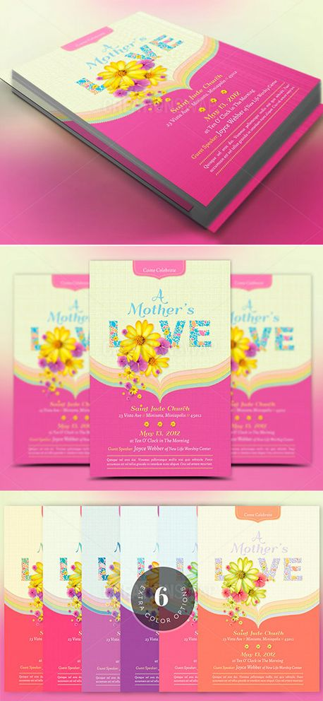 Mothers Love Flyer Template (52201)