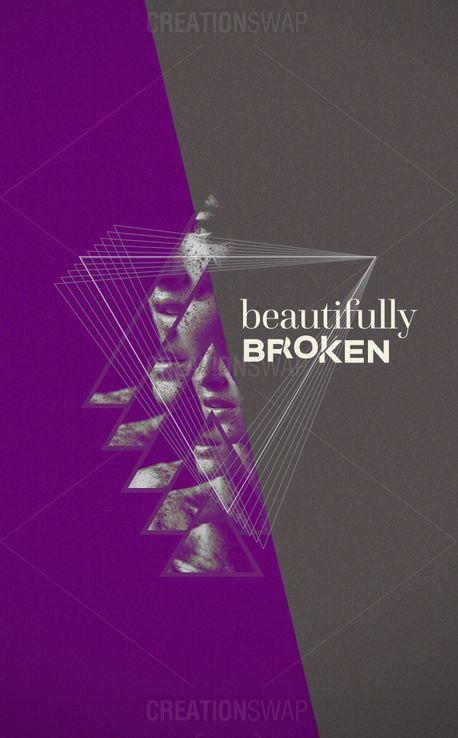 Beautifully Broken invite card (52460)