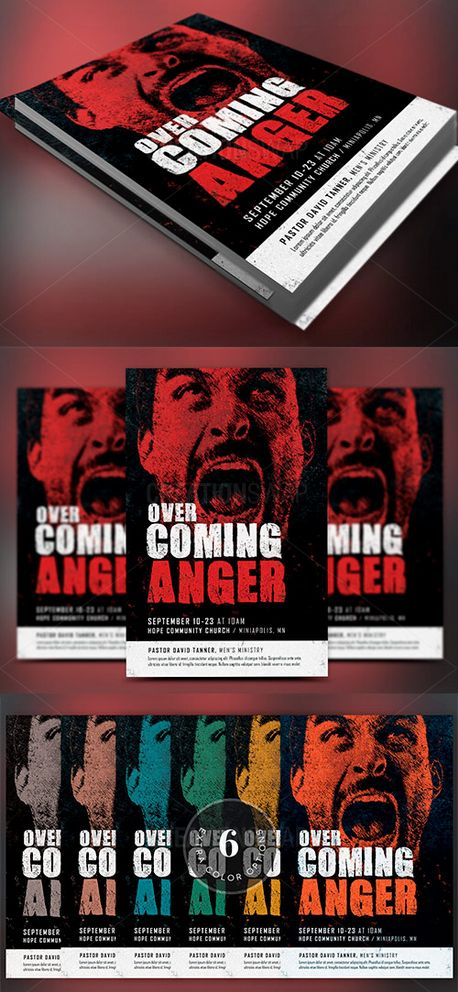 Overcoming Anger Flyer (52686)