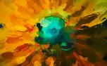 Painted Flowers Loop 2 (52952)