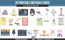 Set of Brithday Cards