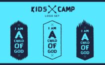 Kids Camp Logo Set