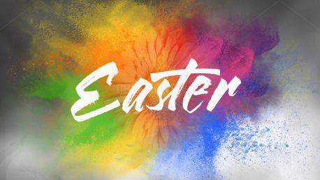 Easter Flower slide (53092)