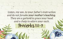 We Love Mom scripture Motion