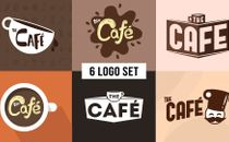 The Cafe Logo Set