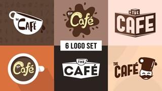 The Cafe Logo Set