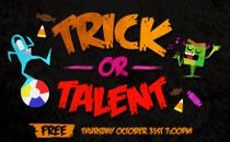 Trick Or Talent Event Slide
