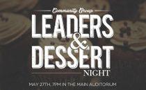 Leaders & Dessert Night Slide
