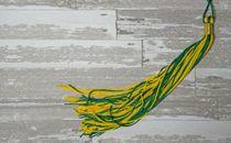 Graduation Tassel on Flooring