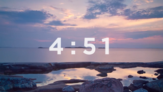 5 Minute Time-lapse Countdown