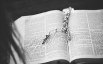 Open Bible + Rosary