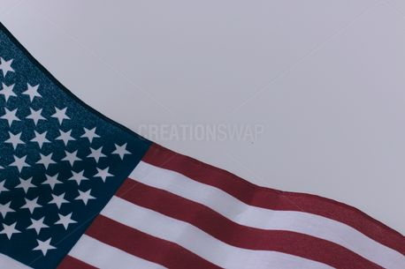 Close-up of an American flag (54358)