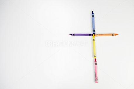 Crayon Cross (54407)