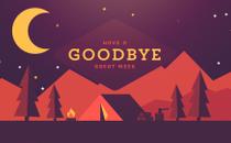 Summer Camp Goodbye