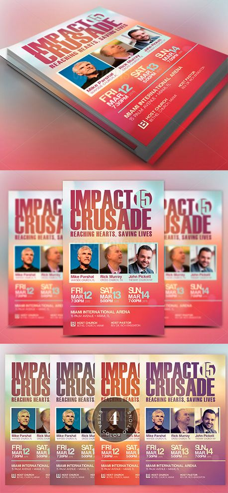 Church Crusade Flyer Template (54621)