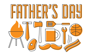 Father's Day Icon Set