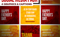 Father's Day Social Media Pack
