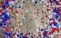 Star Confetti Border