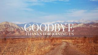 Goodbye 01