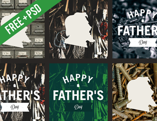 Father's Day Social Graphics