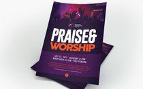 Praise & Worship Flyer