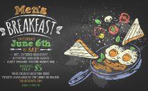 Men's Breakfast Graphic